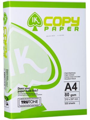 Hartie copiator A4, 80g/mp, 500coli/top, iK Paper