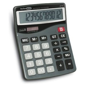 Calculator de birou, 12 digits, Mas 6918