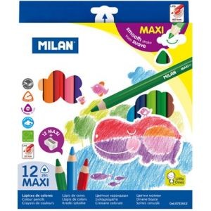 Creioane colorate groase
